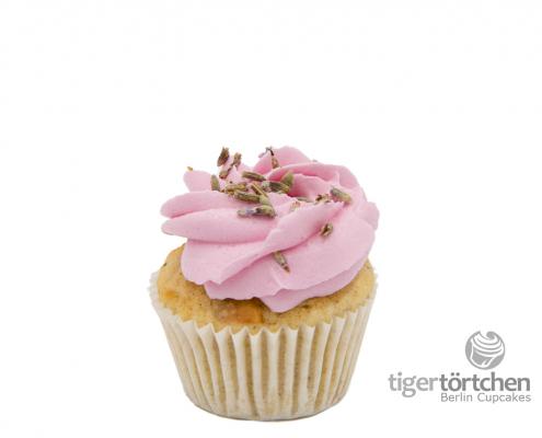 Fruchtiger Apfel Cupcake & Lavendel Creme - Berlin Cupcakes