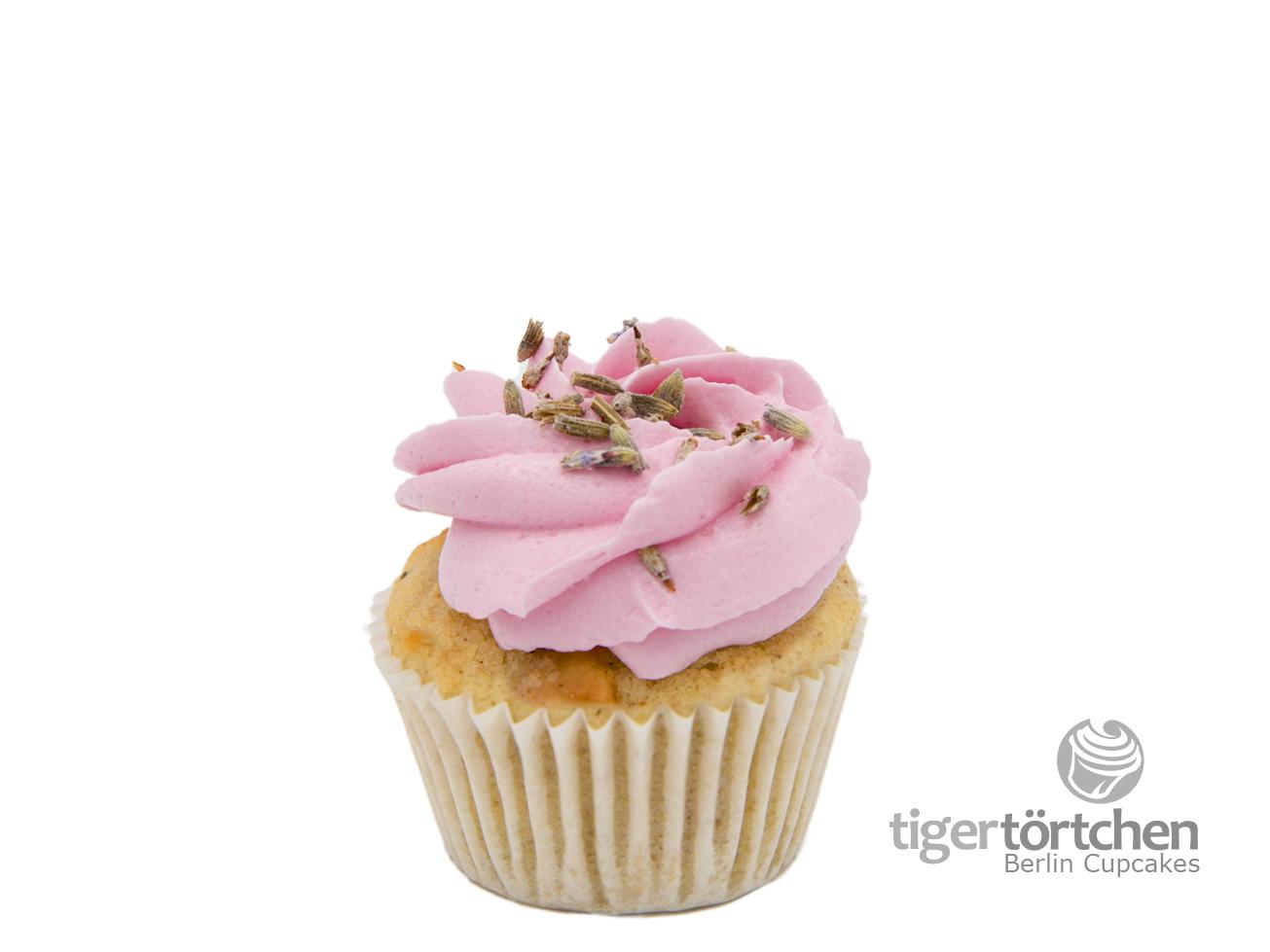 Fruchtiger Apfel Cupcake & Lavendel Creme