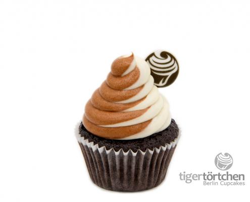 Schoko Cupcake & Vanille-Schoko Creme