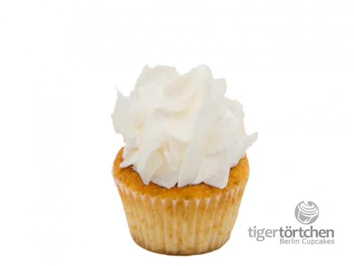Kokos Cupcake & luftig süßes Topping - Berlin Cupcakes