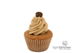 Haselnuss Cupcake & Schoko-Kaffee Topping glutenfrei