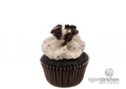 Veganer Schokoladen Cupcake & Vanille-Keks Creme Oreo Berlin Cupcakes