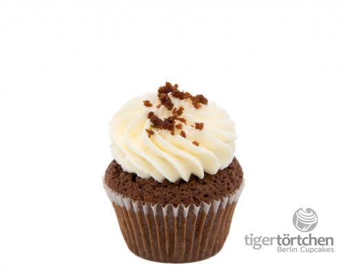 Samtig herber Cupcake & frische Cremehaube