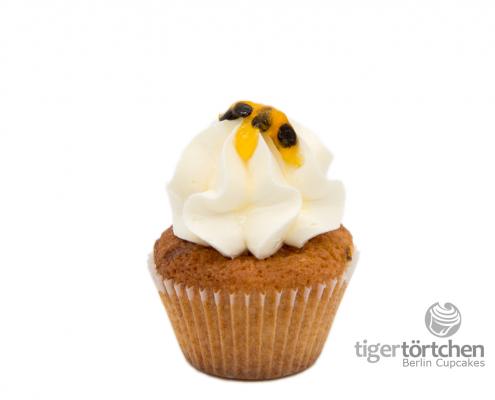 Maracujá Cupcake & White Chocolate Creme