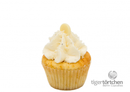 Vanille-Tonka Cupcake & White Chocolate Creme