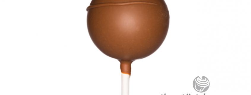 Schoko Nuss Cake Pop