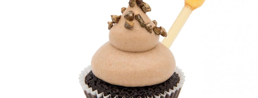 Schoko Orange Cupcake & Nougat Creme mit Cognac Infusion