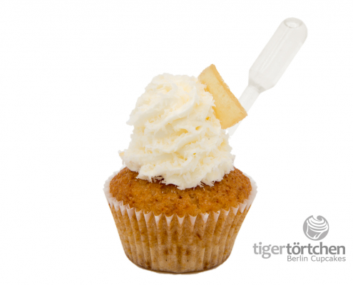 Ananas Cupcake & Kokos Topping mit Batida de Coco Infusion