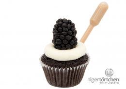 Schoko-Baileys Cupcake & Brombeer-Vanille Topping mit Baileys Infusion