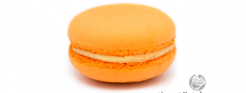 Macaron Orange-Rosmarin tigertörtchen Berlin