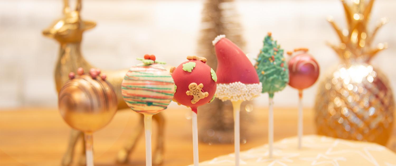Cake Pop Weihnachtsversand