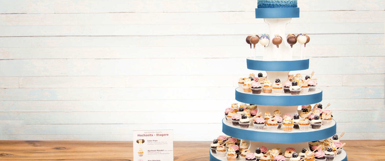 Cupcakes Torte Etagere Berlin