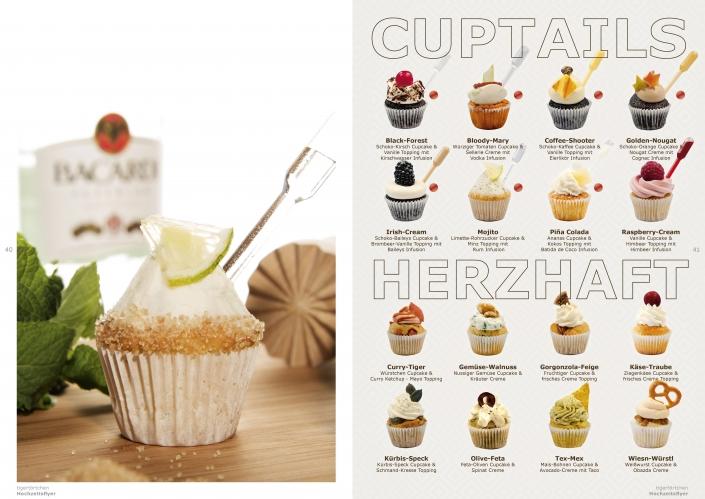 Cuptails und herzhafte Cupcakes tigertörtchen