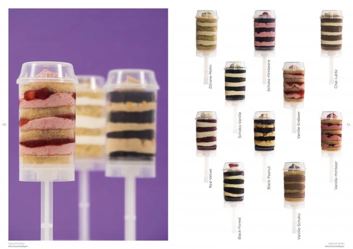 Push-Up Törtchen Kuchen Container Kinder Überraschung CandyBar