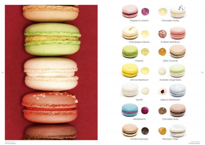 Macaron Gastgeschenk Candy Bar Sweet Table