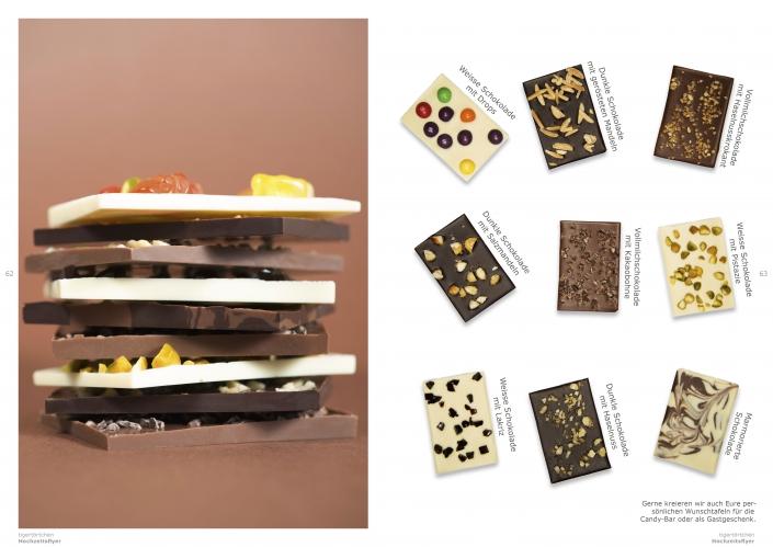 Schokoladentafel Geschenk Gastgeschenk Berlin