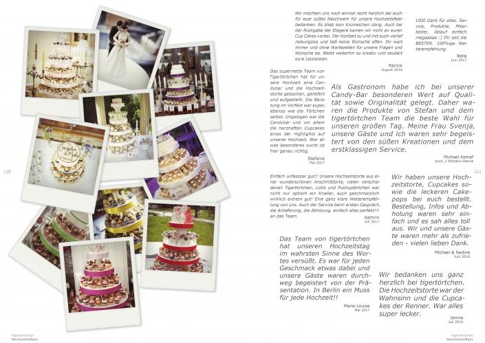 Testimonials tigertörtchen Berlin Cupcakes