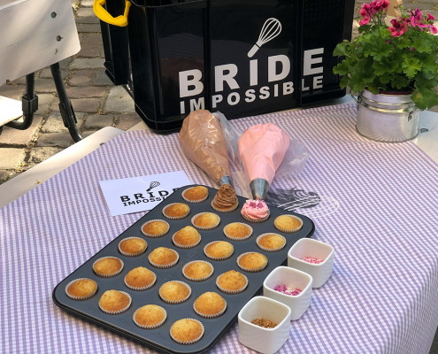 Junggesellinenabschied Bride Impossible Berlin Cupcakes Backen