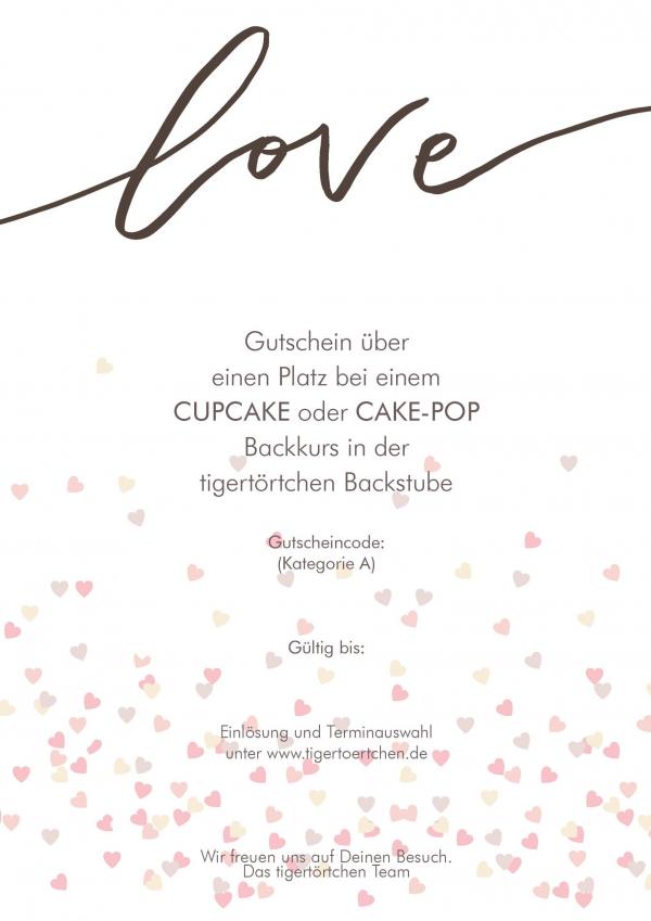 Backkurs Gutschein Cupcake Cake-Pop Berlin
