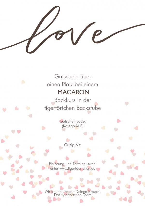 Macaron Backkurs Gutschein Berlin
