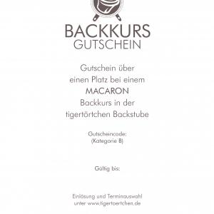 Geschenk Berlin Gutschein backen Backevent