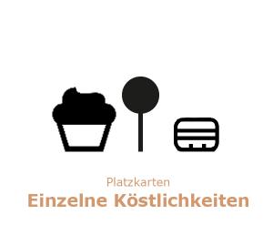 Tigertörtchen Cupcakes, Macarons und Cake-Pops als Platzkarte oder Gastgeschenk