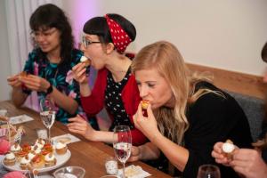 Backevent Cupcakes Backschule Berlin Geburtstag