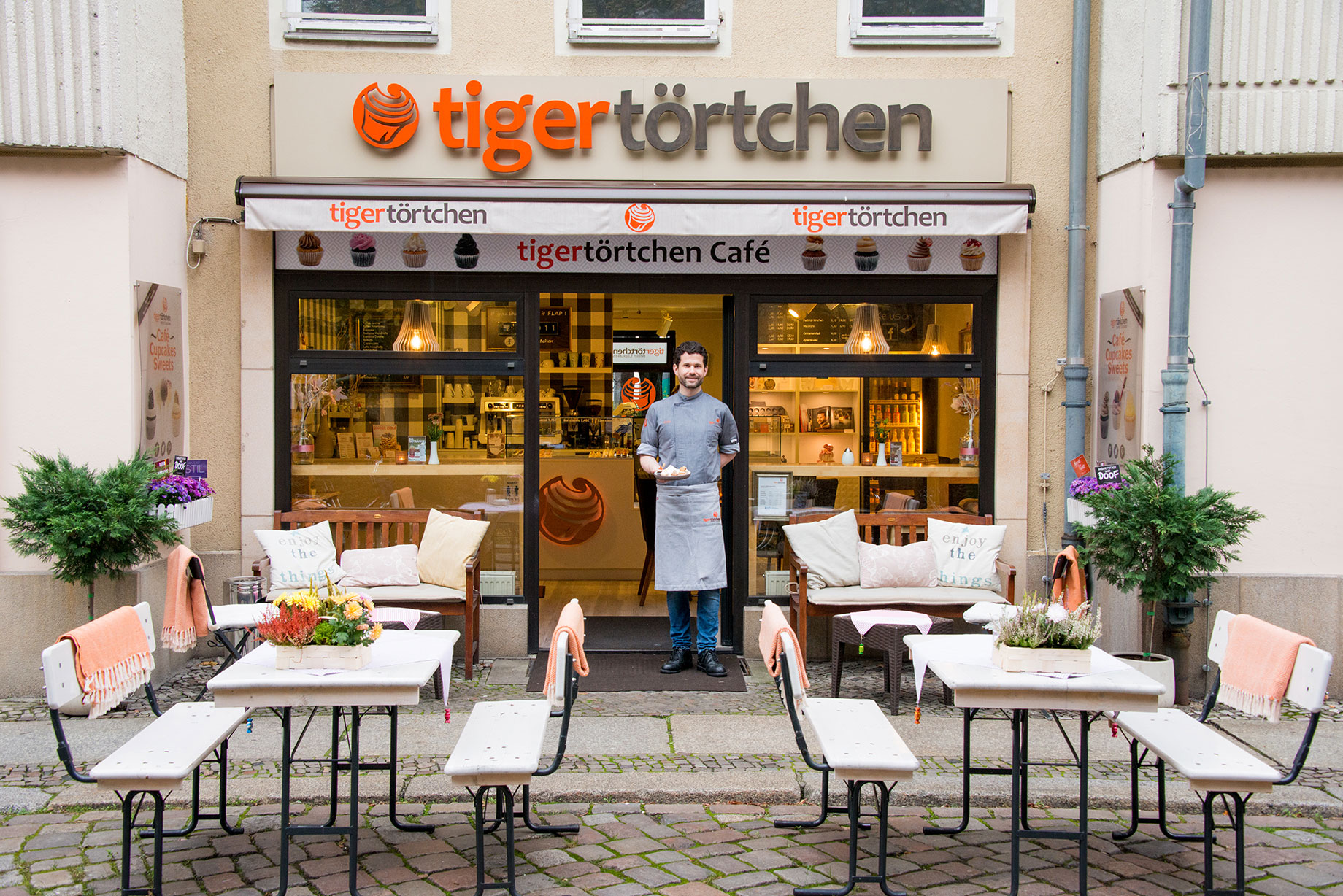 Tigertörtchen Café Berlin Mitte Alexanderplatz Nikolaiviertel Rotes Rathaus