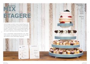 Moderne Hochzeit Hochzeitstorte mit Cucpakes und Cake-Pops - Seite 10-11: Mix Etagere