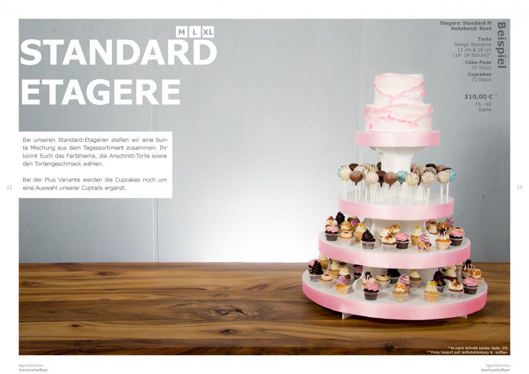 Standard Etagere Hochzeit Torte Berlin