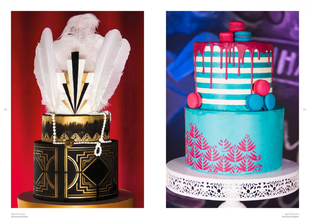 Hochzeitstorte ganz im eigenen Design - Seite 30-31: Individuelle Hochzeitstorte