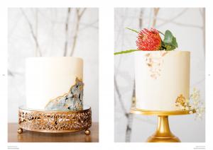moderne Hochzeitstorten  Seite 46-47: Design Torten