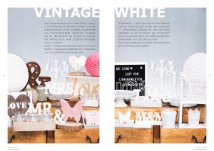 Candy-Bar und Sweet Table Dekorationselemente - Seite 80-81: Design Elemente Vintage und White